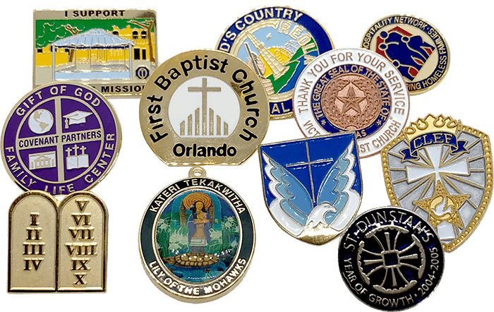 Lapel Pins For Churches and Religious Groups