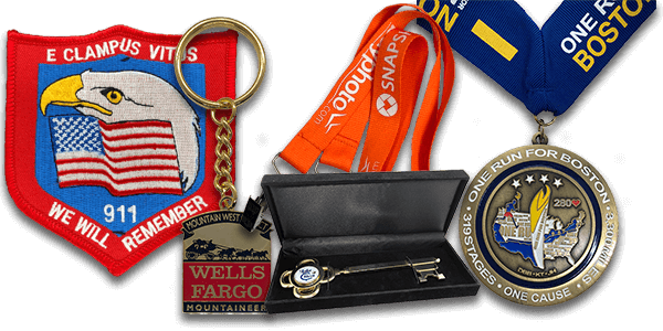 Challenge Coins, Key Chains, & More